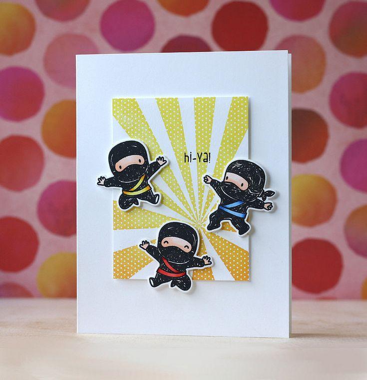 Laura Bassen | hi ya | Mama Elephant-Tiny Ninjas