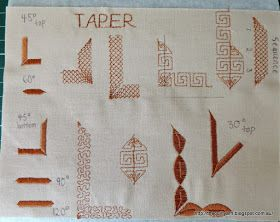 The Quilt Yarn: Pfaff Quilt Expression 4.2: Tapering