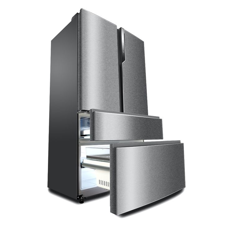 Réfrigérateur multi-portes Haier HB25FSSAAA, Volume 685 L - Dimensions HxLxP : 190x100,5x77 cm - A++, Réfrigérateur double porte à froid ventilé 456 L, Congélateur double tiroir à froid ventilé 229 L, Très grande capacité - Basse consommation