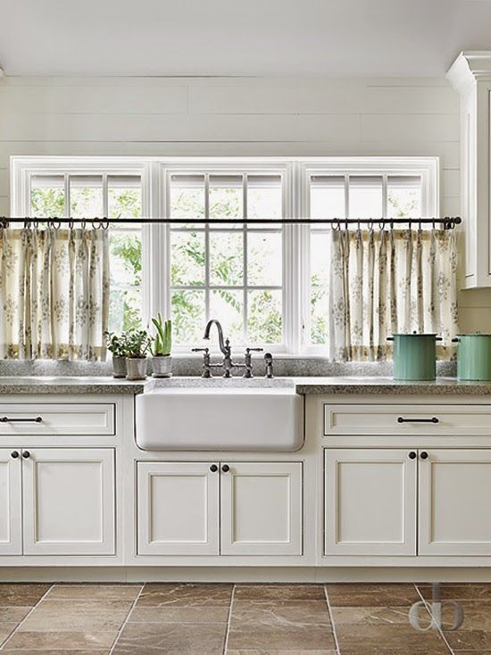 Best 25+ Cafe curtains kitchen ideas on Pinterest Kitchen - cafe curtains for living room