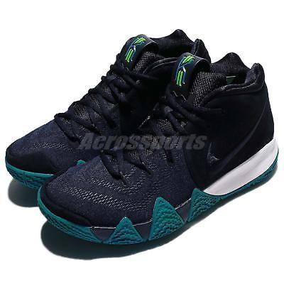 fd2bceccd9 Nike Kyrie 4 EP IV Irving Dark Think Twice Obsidian Men Basketball  943807-401