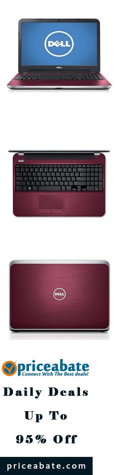 "#priceabatedeals Dell Inspiron M531R 15.6"" HD Notebook, 8GB RAM, 1TB HDD, Fire Red #I5535-1463FIR - Buy This Item Now For Only: $499.99"