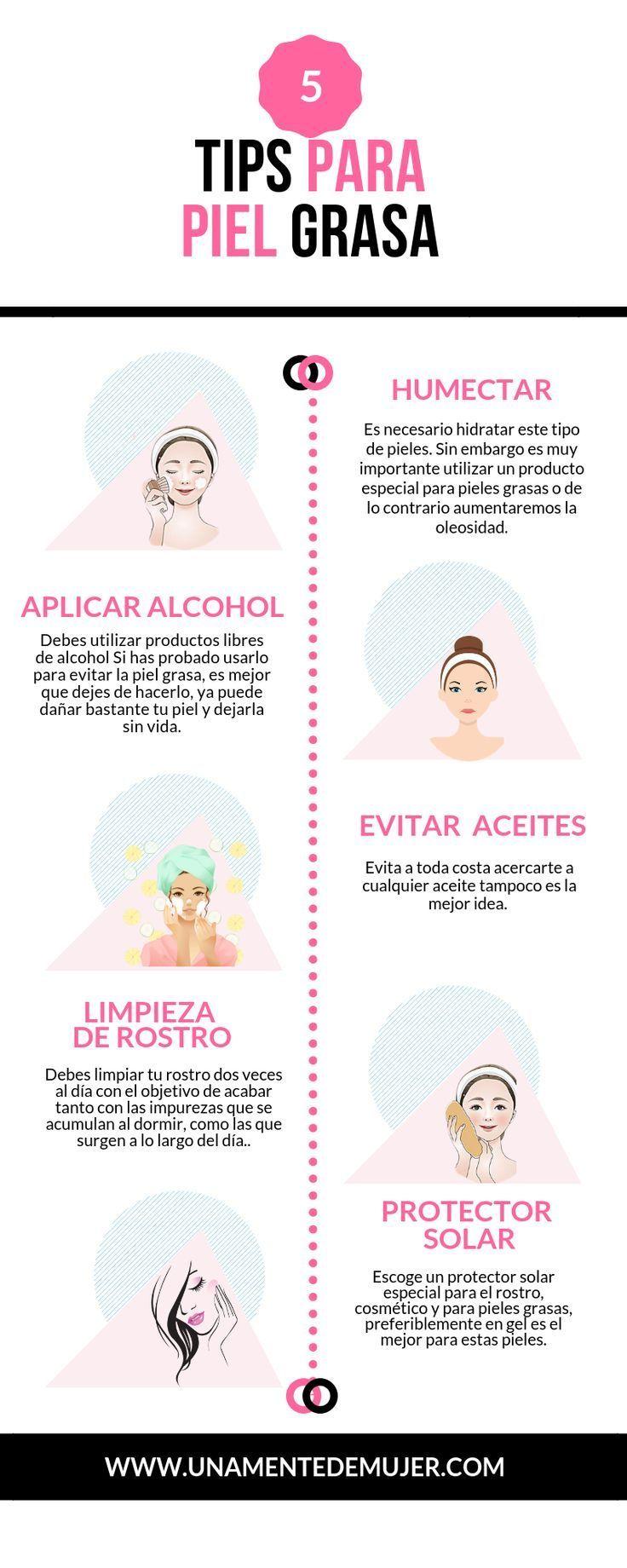 5 Tips Maquillaje Para La Piel Grasa Grasa La Maquillaje Oily Para Piel Tips Maquillaje Para Piel Grasa Piel Grasa Cuidados Para La Piel Grasa