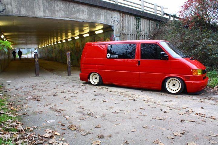 VW T4 hydro slammed