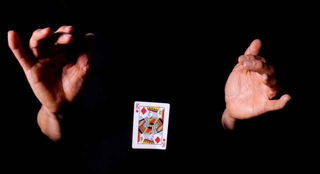 To levitate something or somebody is to cause it to suddenly rise without physical means and seemingly break the laws of gravity. Magicians are known for levitating or floating small objects such as cards and finger rings in close-up magic, or can even levitate people, live animals or even cars and more in big stage illusions. Here are some simple magic tricks that will allow you to levitate objects, make them suspend or float in air or seemingly move on their own. Just like defying gravity.