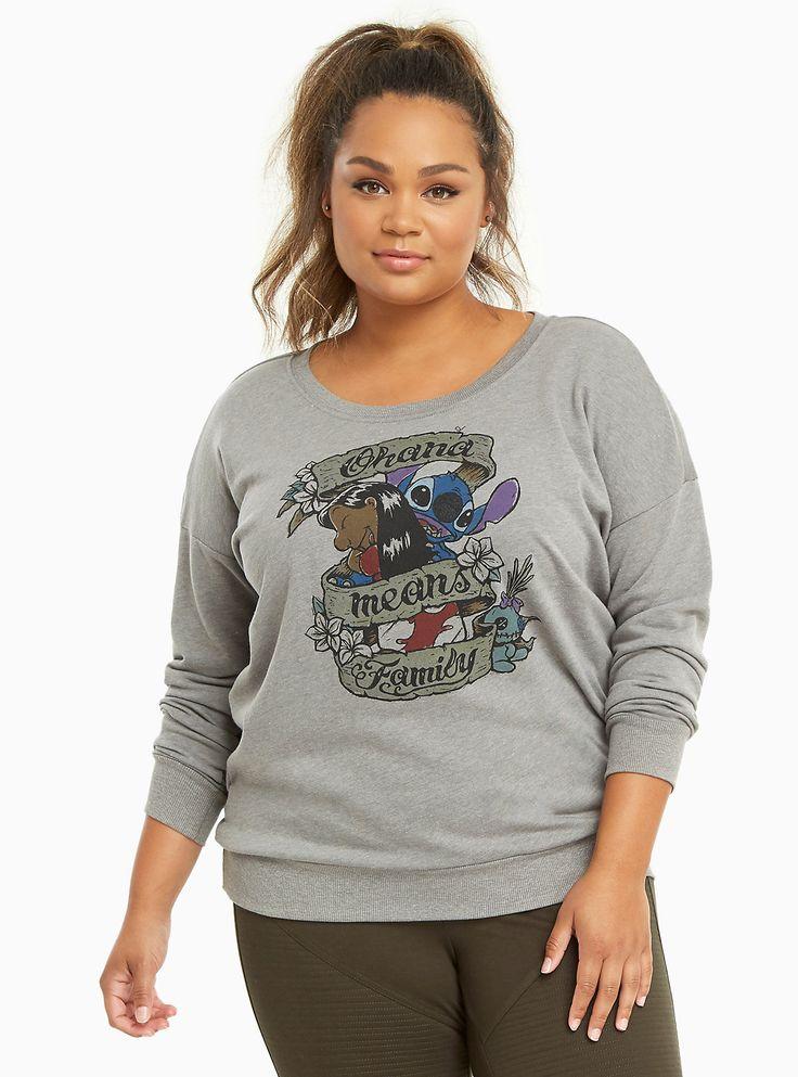 Disney Lilo Stitch Ohana Sweatshirt
