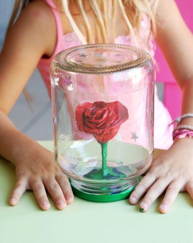 La rose du Petit Prince | jouonsensemble