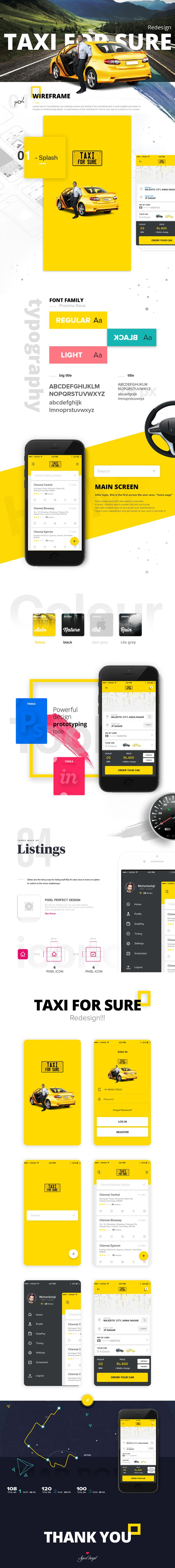 """Consulta este proyecto @Behance: """"2016 Taxi for sure App Redesign"""" https://www.behance.net/gallery/35162169/2016-Taxi-for-sure-App-Redesign"""