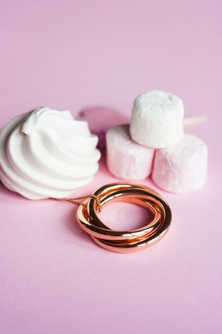 Pink loveliness - especially the Charlotte Russian Rings necklace