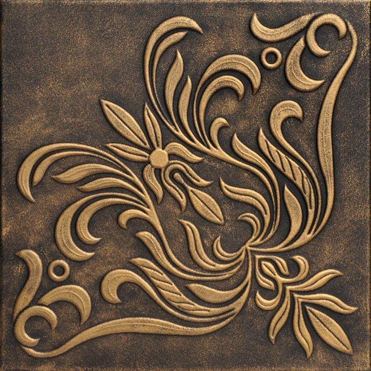 Seite 2 Handbemalte Styropordeckenplatten 20x20 Ornamentik Decke Styropor