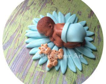 BABY SHOWER CAKE Topper Flower Daisy first birthday l