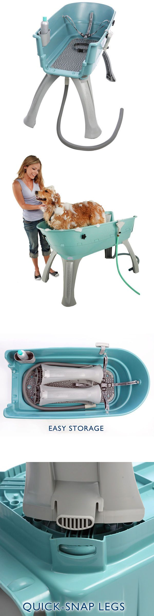 Shampooing and Washing 149019: Large Elevated Dog Bath Tub Pet Bathing Shower Grooming Booster Wash Station -> BUY IT NOW ONLY: $165.99 on eBay!
