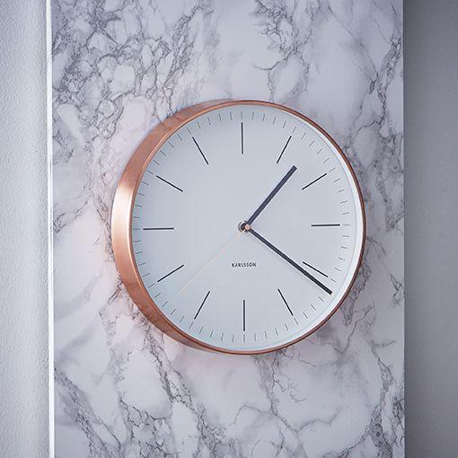 Horloge cuivre