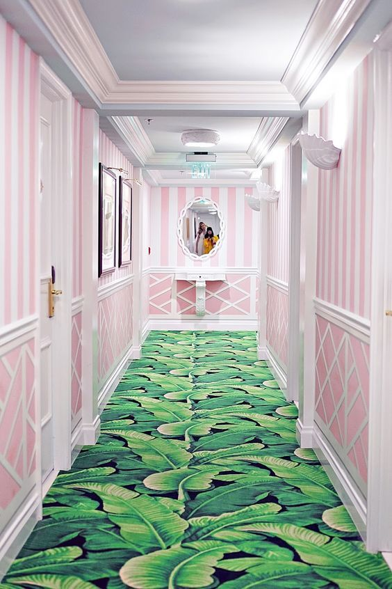 Pink and Green  Love this!!!