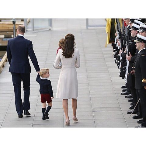  October 01, 2016  -  Catherine, Duchess of Cambridge and Prince William, Duke of Cambridge, Prince George of Cambridge and Princess Charlotte of Cambridge heading back to the U.K. Tonight after finishing their first  Royal Tour as a family this week.  VICTORIA, BC   #Canada  #RoyalVisitCanada #DuchessKateStyle  #duchessofcambridge #dukeofcambridge #katemiddleton #princegeorge #princesscharlotte #royalvisitcanada #canada #british #britishroyalfamily #royalfamily #royalty #instaroyal