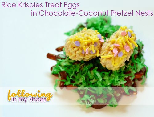 Adorable: Easter Recipes, Rice Krispie