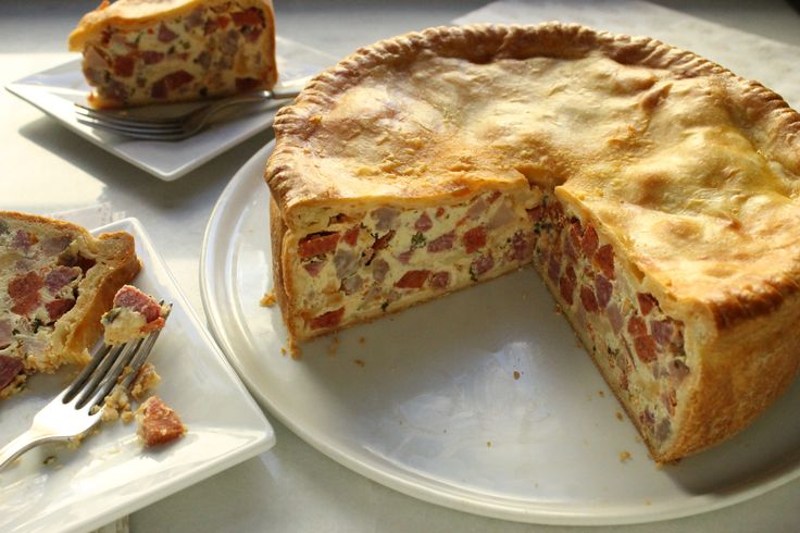 Celebrate Easter the Italian way with this meaty pizza rustica