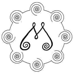 RAEC +Bio geometry symbol ~ Lungs, Stomach, Kidneys.