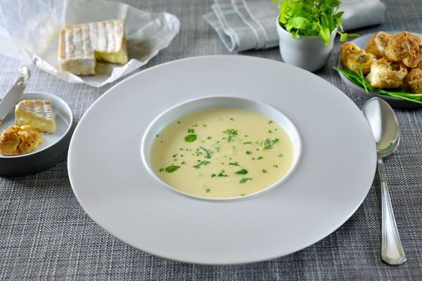 Knolselderijsoep met Bruggekaas - Philips Chef !
