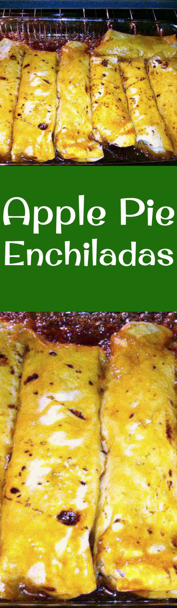 Apple Pie Enchiladas - You can also make these using other fillings, such as blueberries. Always great reviews of deliciousness and yumminess!