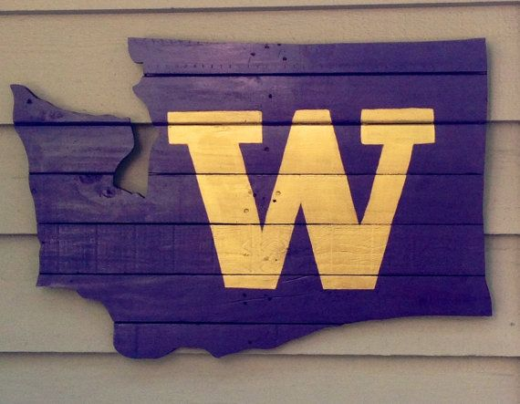 Officially Licensed UW Crafter Handcrafted by LJsPallets on Etsy