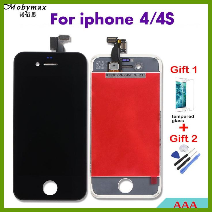 Mobymax AAA LCD Touch Screen For iPhone 4 4S 5S 5G 5C Display Digitizer Assembly Replacement Pantalla Module Ecan Repair+Gifts