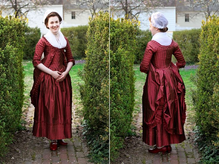 Mode de Lis: Past Projects · 1780s Polonese Gown