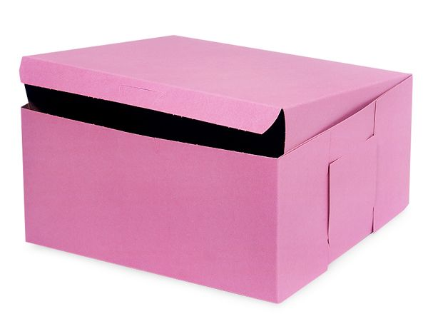 10x10x5 Pink Bakery Cupcake Box 100 Pk 1 Piece Lock Corner With Images Pink Bakery Boxes Bakery Boxes Bakery Packaging