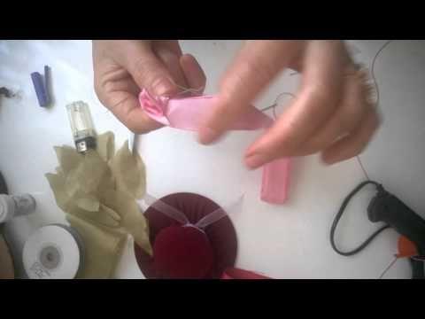 Pratik El işi Süs İğnelik Yapımı - YouTube