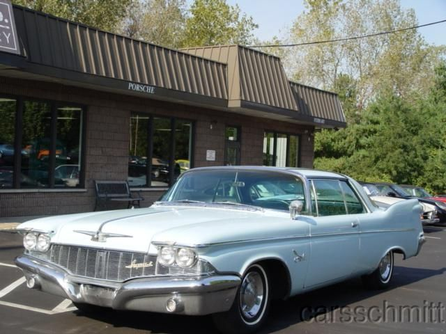66 best vintage car stuff mostly forward look era images on chrysler imperial crown 2 dr southhampton light blue 1960 fandeluxe Image collections