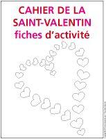 Fiches d'activité - Cahier-de la Saint-Valentin