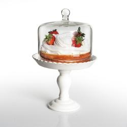 @Overstock - This Bianca Pedestal Cake Plate with Dome from American Atelier features a eclectic mid-century style that will highlight your favorite desserts. The cake plate is dishwasher safe for your ultimate convenience. http://www.overstock.com/Home-Garden/American-Atelier-Bianca-Pedestal-Cake-Plate-with-Dome/6711184/product.html?CID=214117 $29.99