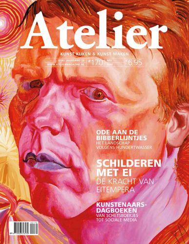 Atelier magazine 170. In dit nummer van Atelier staan twee artikelen van mij. Een interview met Philip Akkerman en het icoon schilderen met Martin Mandaliev