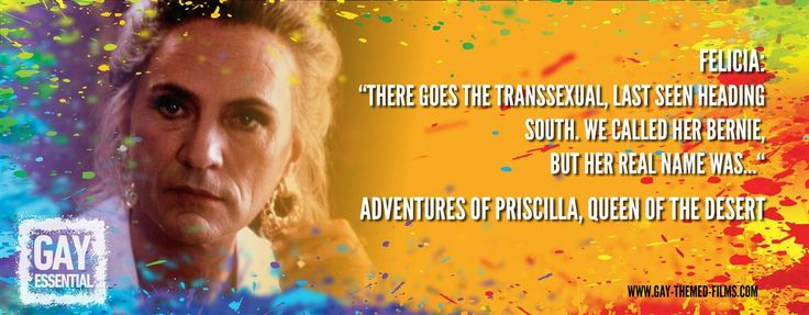 """We called her Bernie, but her real name was...""   http://gay-themed-films.com/film-quotes/ #MovieQuotes #PriscillaQueenoftheDesert"