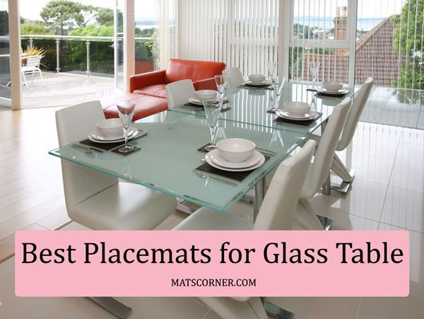 Best Placemats For Glass Table Washable Heat Slip Resistant Table Mats Glass Table Table Placemats