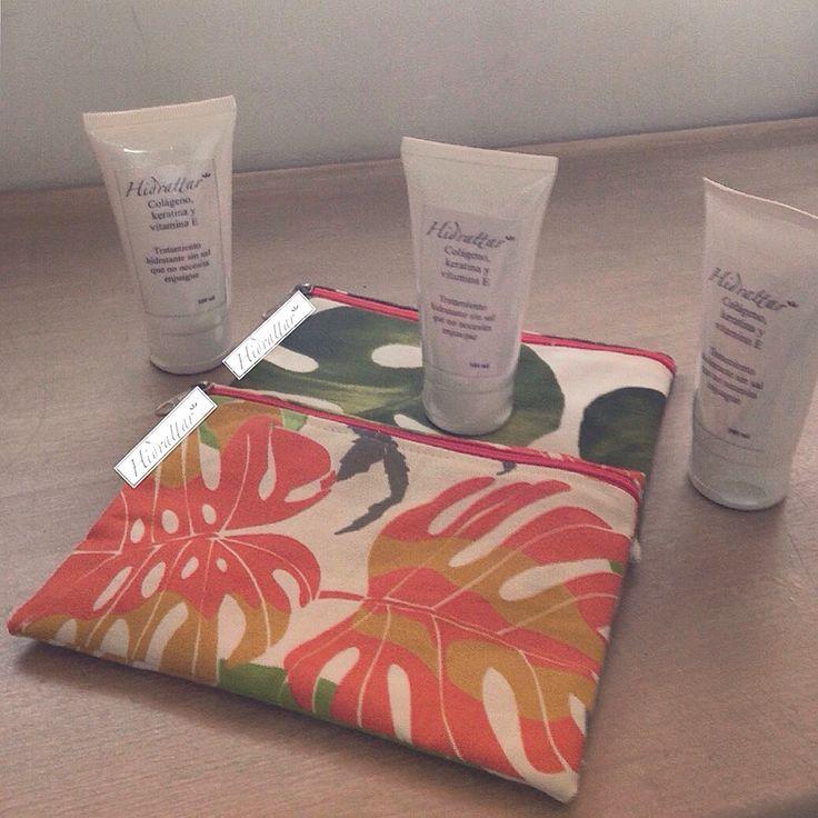 Cosmetiqueras hidrattar elaboradas con tela importada