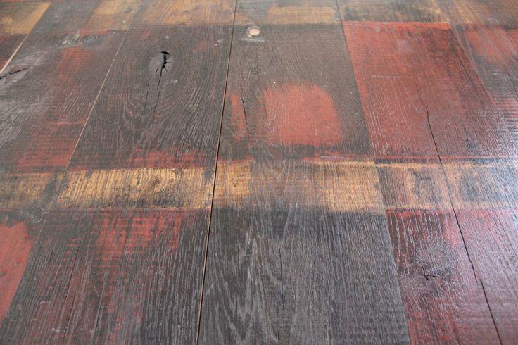 Habillage Mural Bois Ancien : habillage mural ou pour vos sols. Pr?par? avec rainures et