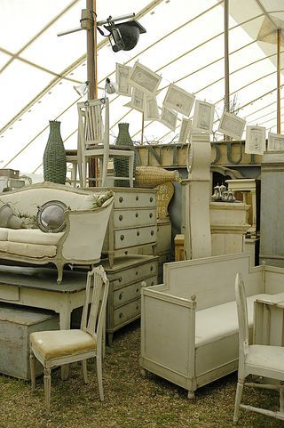 Some Day.....Round Top Antiques Show, smack in the middle of Austin, San Antonio and Houston!!! This booth of Marc & Bobo (line for Restoration Hrdw.)