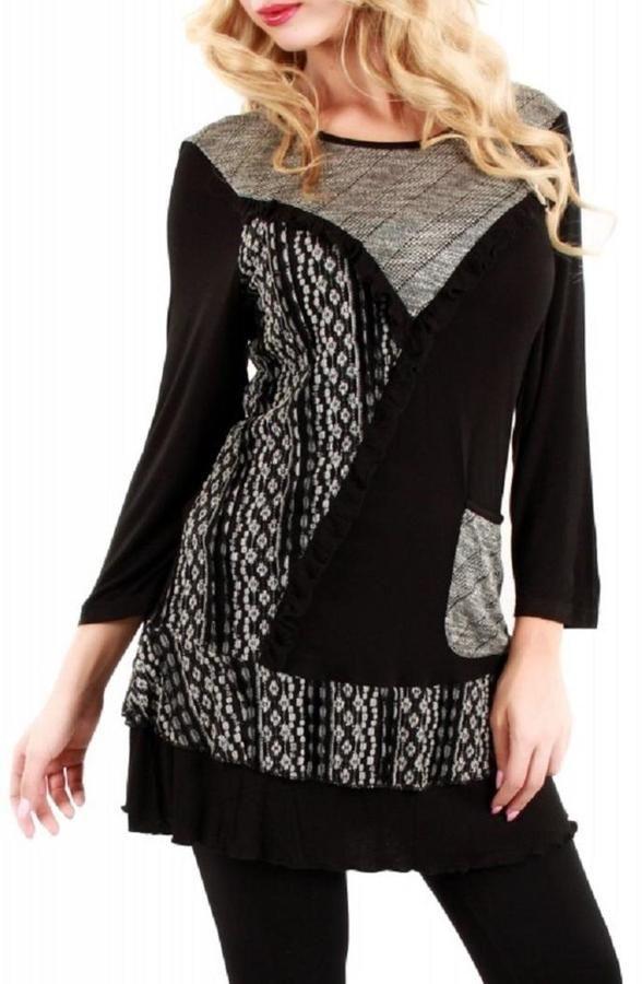 Lily Metallic Lace Tunic on shopstyle.com.au