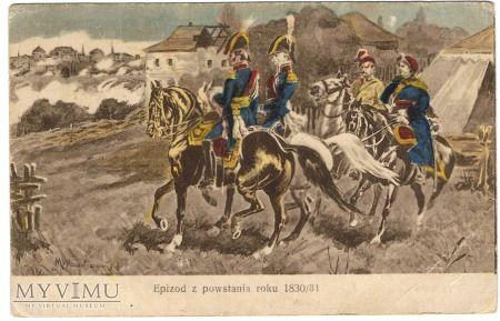 Duże zdjęcie Epizod z powstania roku 1830/31