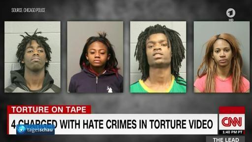Vier junge Afroamerikaner werden wegen eines live im Internet übertragenen Foltervideos in Chicago eines Hassverbrechens beschuldigt. Im Video schimpfen sie auch über Weiße und den künftigen US-Präsidenten Trump. Von Philipp Glitz.