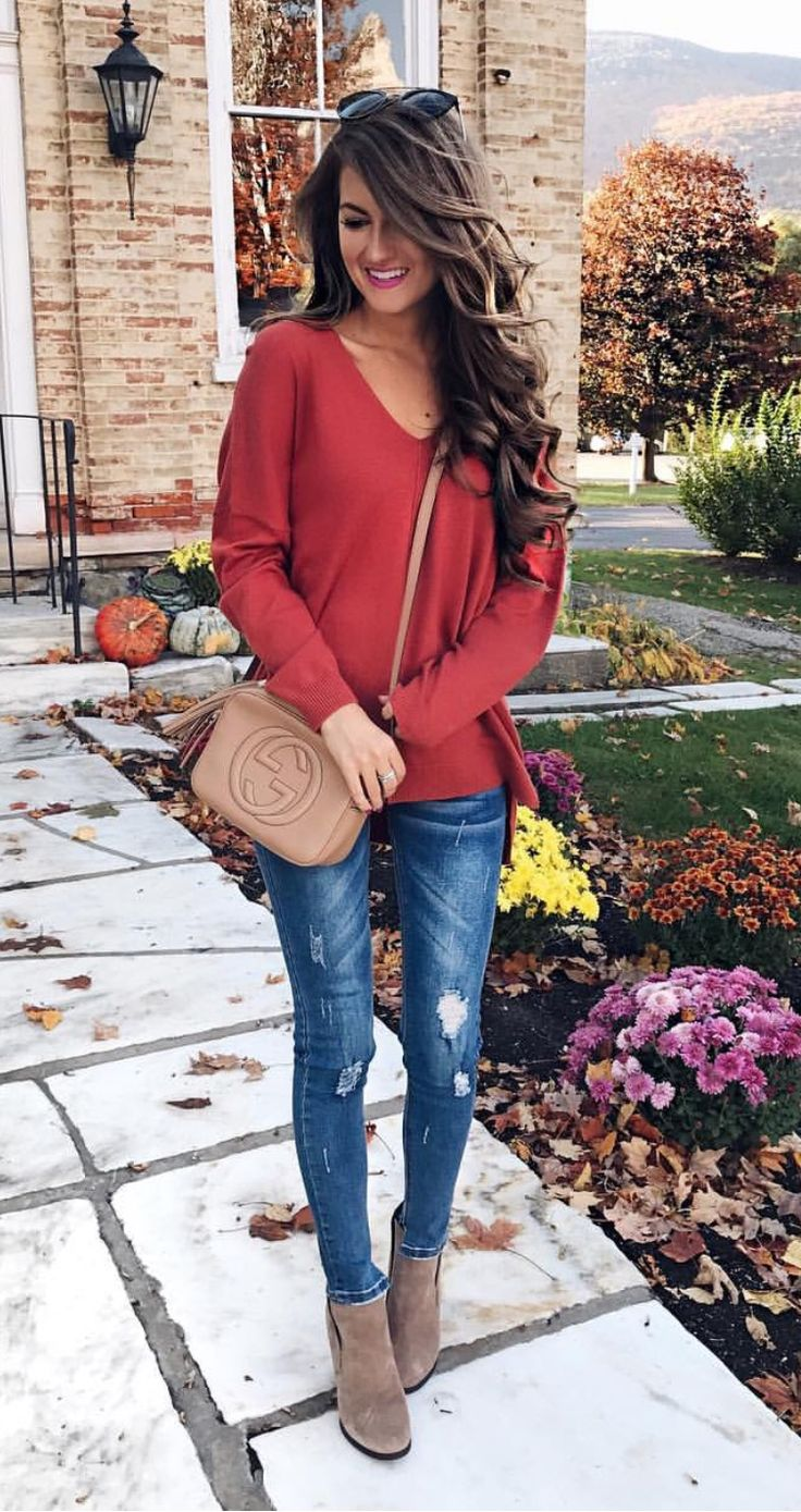 good red outfit ideas tumblr women