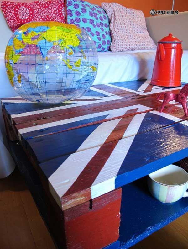 DIZZA. Кофейный столк в британском стиле.