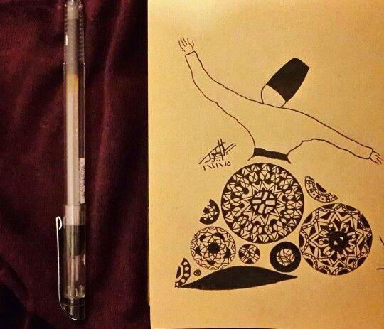 Sufi art  ميلوية♡