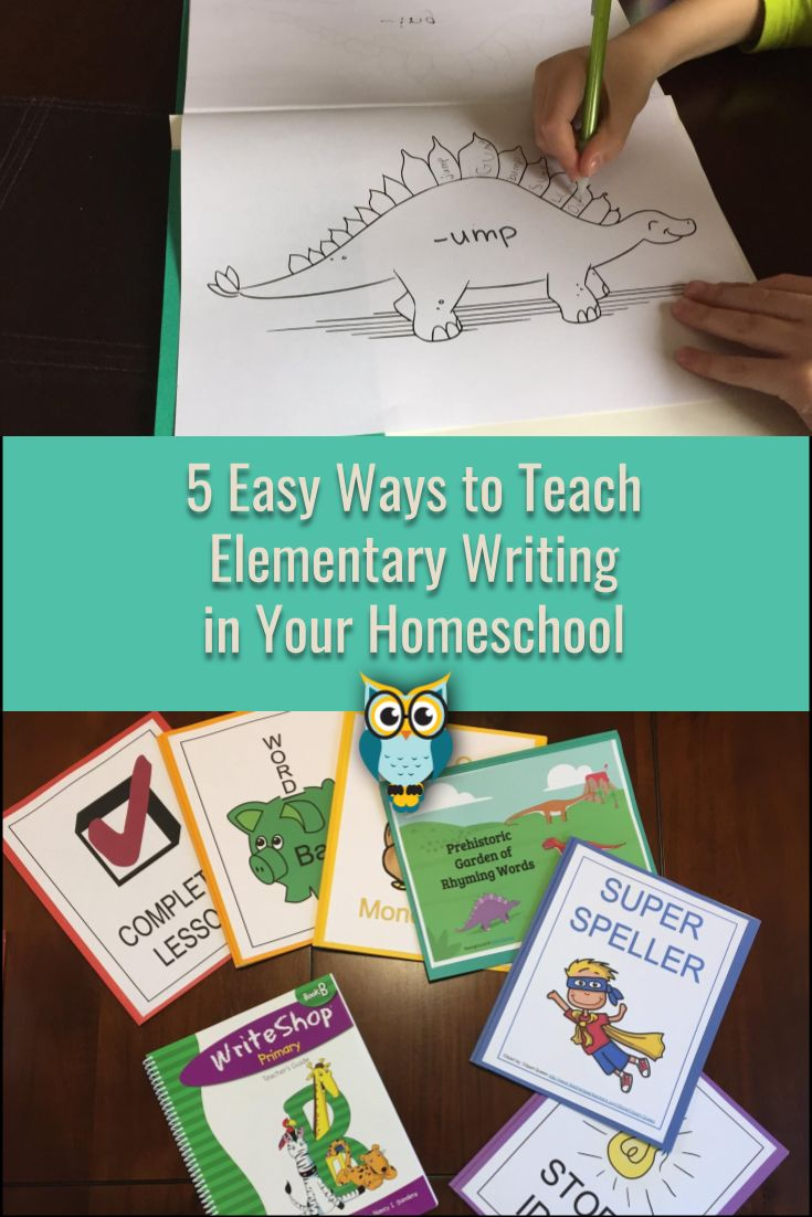 Teaching writing doesn't have to be boring! These 5 tips will help you set your young learner up for a lifetime of writing success. #ad #homeschool #ihsnet #writing #curriculum