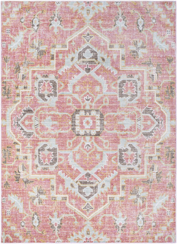 Feminine bohemian vibes and bold, vivid hues make our Anamura Rug a stunning piece for your floor. Pair with a collection of eclectic pillows and vintage treasures to complete the look.