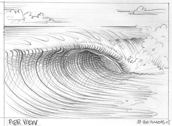 How To Draw A Wave | Club Of The Waves