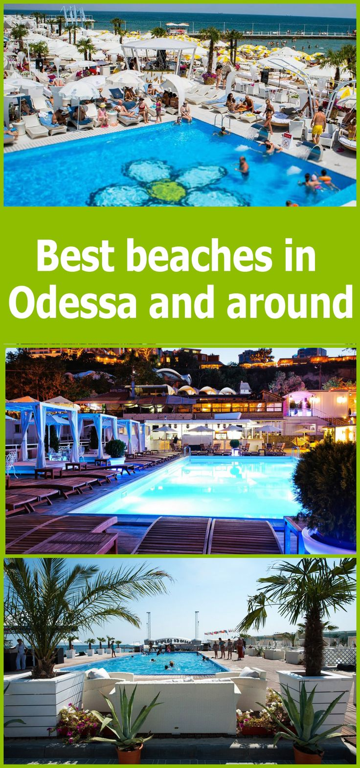 Best beaches in Odessa and around