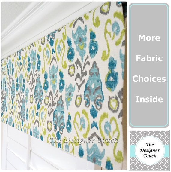 Hey, I found this really awesome Etsy listing at https://www.etsy.com/listing/208551920/blue-kiwi-green-valance-panelsage-aqua
