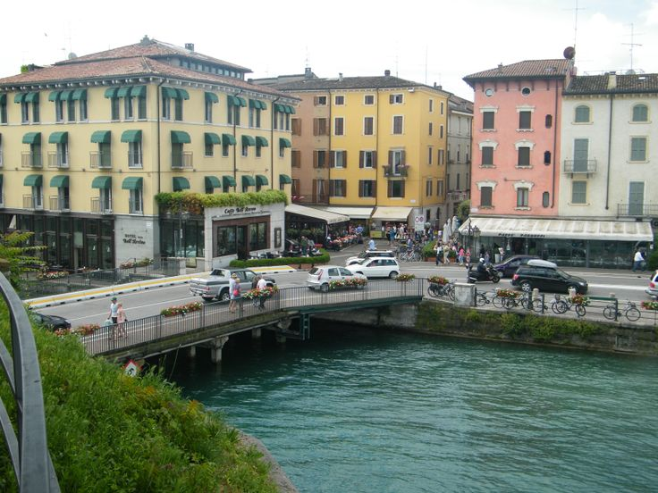 Perschiera Lake Garda Italy. Nearest airport is Verona.